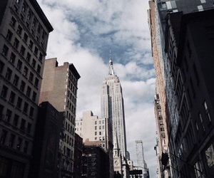 city, new york, and empire state image
