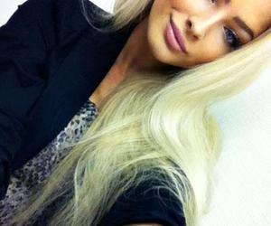 blonde, alena shishkova, and model image