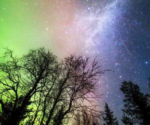 nature, sky, and stars image