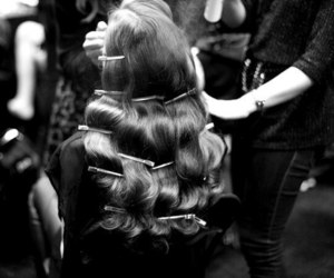 hair, model, and style image