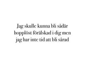 love and swedish image