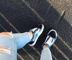 blue, blue shoes, and girls image
