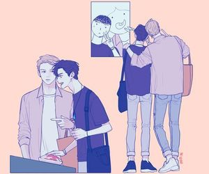 gay, wanna one, and kpop image