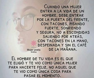 amor, mujer, and hombre image