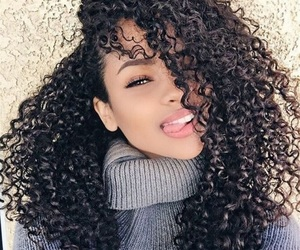 girl, beauty, and hair image