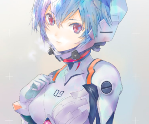 anime, evangelion, and anime girl image