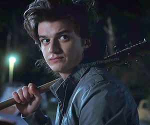 stranger things, steve harrington, and joe keery image