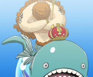 one piece, fishman island, and king neptune image