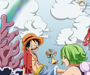 chopper, one piece, and fishman island image
