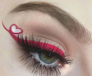 beauty, eyebrows, and make up image
