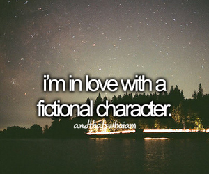 love, book, and character image