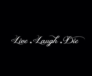 black, lockscreen, and laugh image