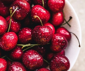 beautiful, cherry, and delicious image
