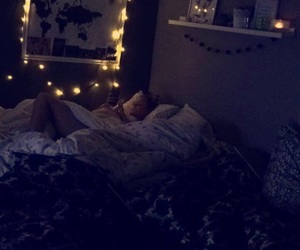 best friends, candle, and cosy image