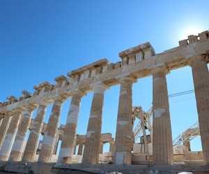 architecture, Athens, and awesome image