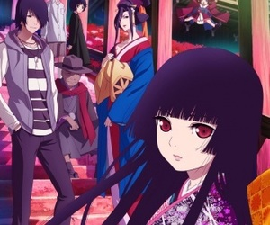 hell girl, jigoku shoujo, and enma ai image