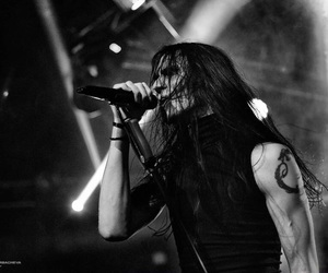blackmetal, blackandwhitephoto, and metalguys image