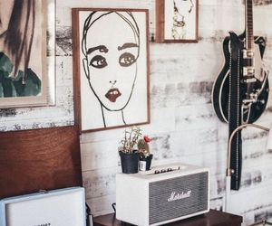 amplifier, music, and vinyl image