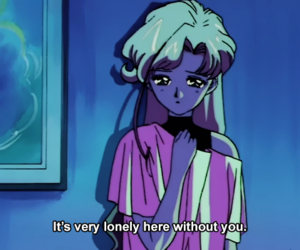 aesthetic, quotes, and anime image