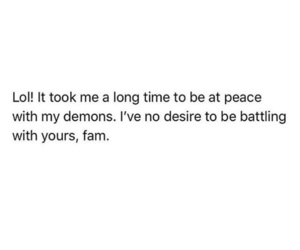 demons, depressing, and happy image