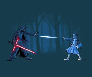 star wars, eleven, and stranger things image