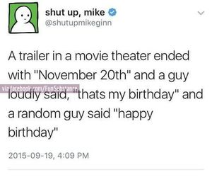 awesome, birthday, and funny image