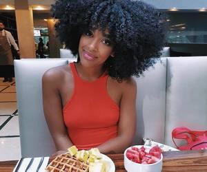 beautiful hair, big hair, and black women image