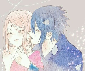 naruto, anime couples, and sakura haruno image