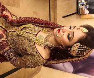 jewelry, wedding dress, and shaadi image