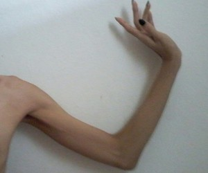 anorexic, arm, and body image