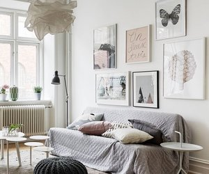 aesthetic, living room, and artsy image