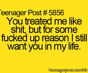 love, quote, and teenager post image