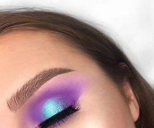 beauty, colorful, and eyeshadow image