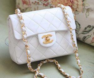 brand, golden, and chanel image