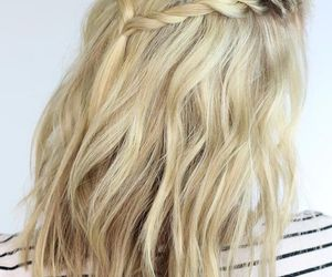 hair, hair style, and hairstyles image