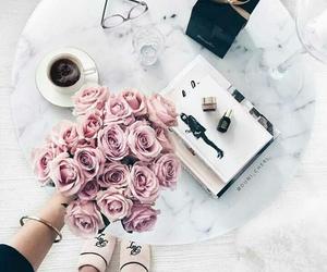 girl, coffee, and inspiration image