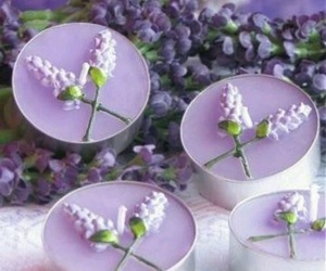candle, creative, and lavender image