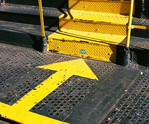 arrow, nyc, and street photography image