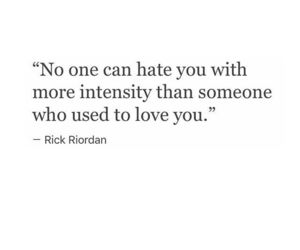 hate, heartbreak, and quote image