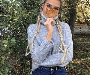 fashion, girl, and fall image