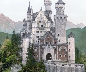 castle, travel, and germany image