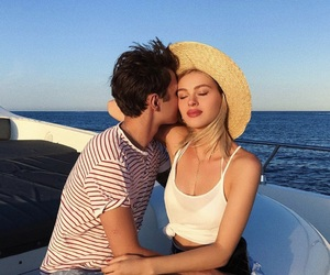 couple, summer, and nicola peltz image