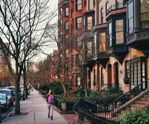 autumn, boston, and massachusetts image