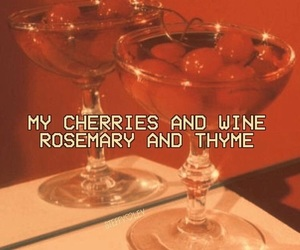 cherry, wine, and red image