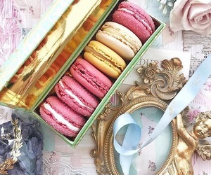 macarons, tea party, and tea time image