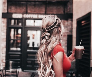 girl fashion style, braids inspiration, and hair hairstyles image