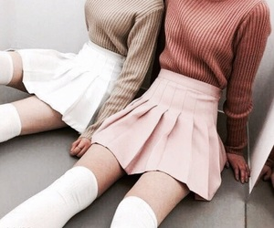 kfashion, girly inspiration, and korean fashion image