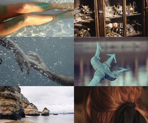 aesthetic, ariel, and disney image