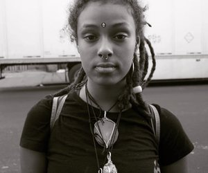 beauty, dreads, and natural hair image