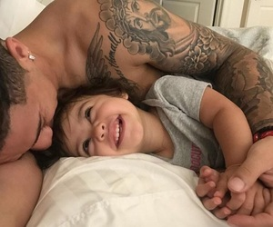 ace, dad, and daughter image